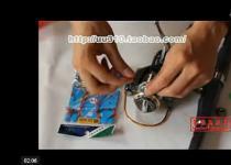 新手海竿组装,海竿线组视频